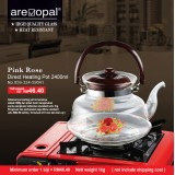 Pink Rose Direct Heating Pot  2400ml