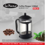 Coffee Plunger 1500ml