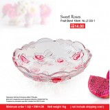 Sweet Roses Fruit Bowl 18cm
