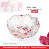 Sweet Roses Fruit Bowl 26cm