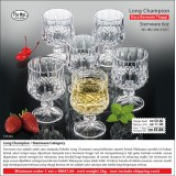 Long Champion Stemware 6oz
