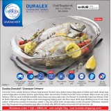 Duralex Ovenchef Oval Roaster 4L