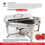 Stainless Steel Half Size Buffet Set